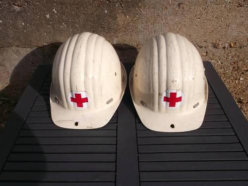 ROT KREUZ Katastrophenschutz Helm Standart