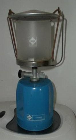 Gaslaterne Camping Gas Lumogas für Stechkartuschen