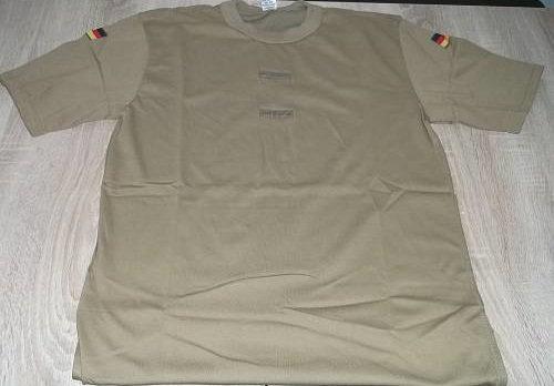 Bundeswehr Tropen T-Shirt , braun, NEU