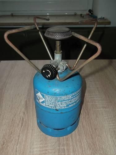 Gaskocheraufsatz (kompakt) für Gasflaschen von Campinggaz