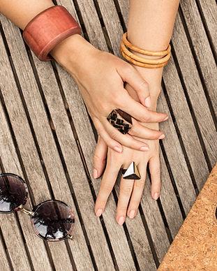 Bracelets femme en pâte polymère création française artisanale