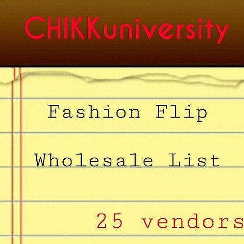 Fashion Flip wholesale List 25