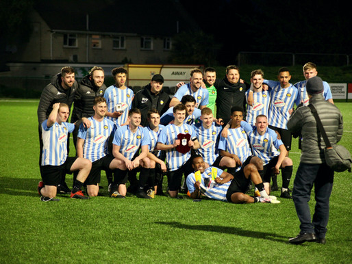 Tuesday, 18th of May - a cup final win and promotion in one day!