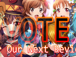 Vote for Our Next Review!