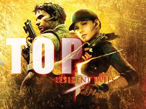 Top 5 Resident Evils (Biohazards)