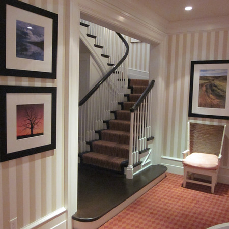 OHIO RESIDENCE - Lower Level Stair Hall