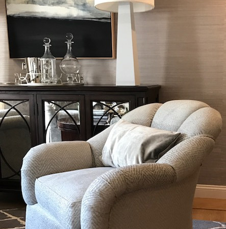 BOSTON RESIDENCE - Custom Upholstery Detail