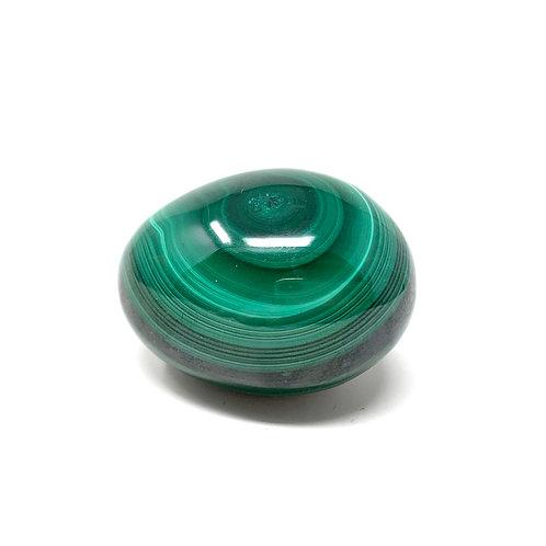 Natural Malachite Egg 40 MM X 30 MM