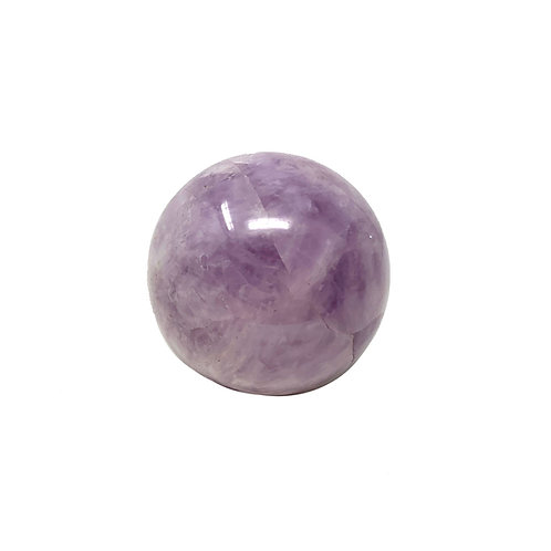Natural Lavender Amethyst Sphere 45 MM