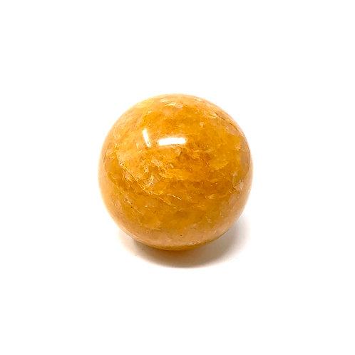 Natural Yellow Quartz (Golden Healer) Spheres  60 MM