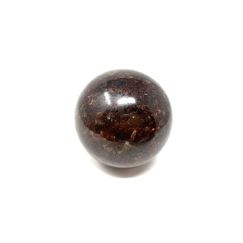 Natural Garnet Sphere 48 mm