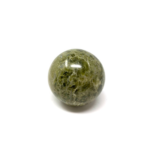 Natural Vesonite (Green Garnet) Spheres 45 MM
