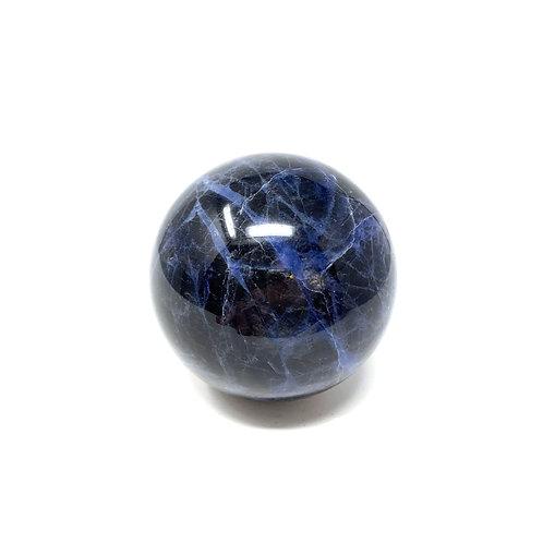 Natural Sodalite Spheres 50 MM