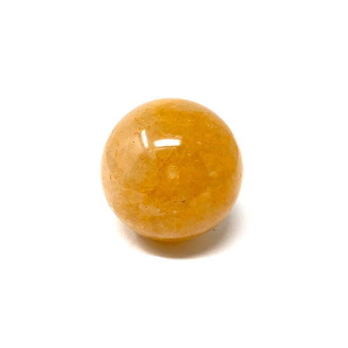 Natural Yellow Quartz (Golden Healer) Spheres 50 MM