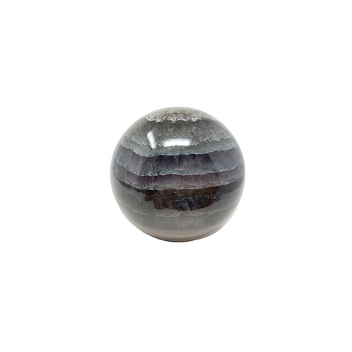 Natural Flourite Sphere 75 MM