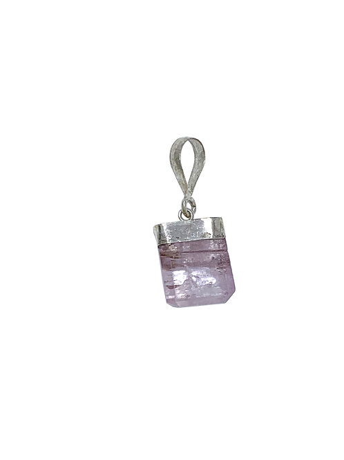 Sterling Silver Kunzite Pendant