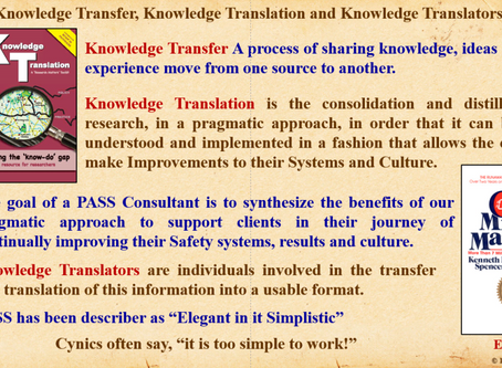 Knowledge Transfer, Translation and Translators