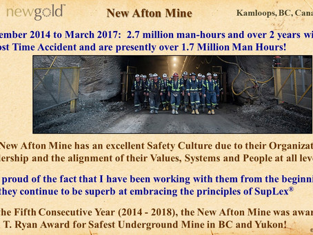 New Golds' New Afton Mine Results