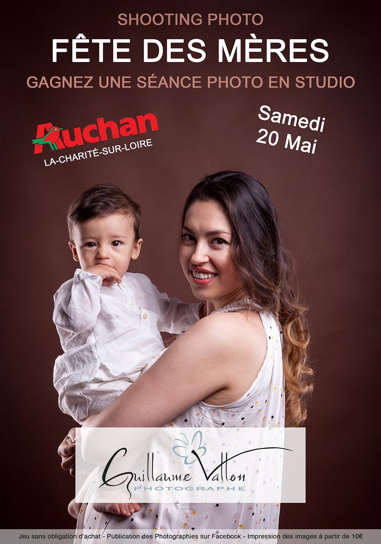fête des mères - séance photo gratuite - photographe la charité sur Loire
