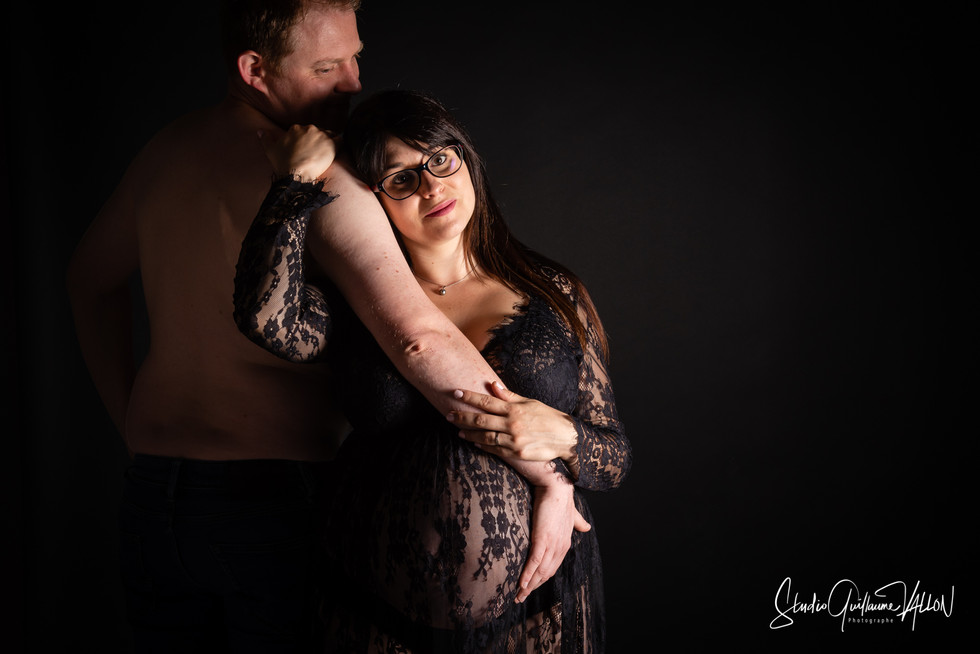 Séance photo Grossesse en Studio à Nevers