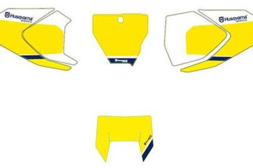 商品名 Start number plates yellow