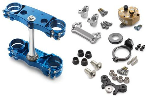 商品名 Factory triple clamp/-steering damper kit