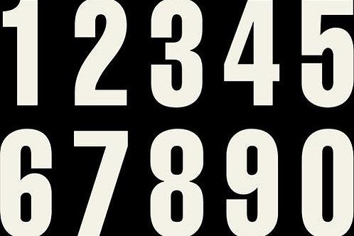 商品名 Race numbers