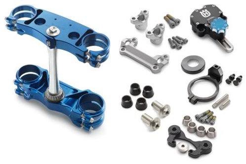 商品名 Factory triple clamp/steering damper kit