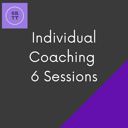 1-1 Video Coaching - 6 session block