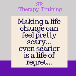 Making a life change can feel pretty sca