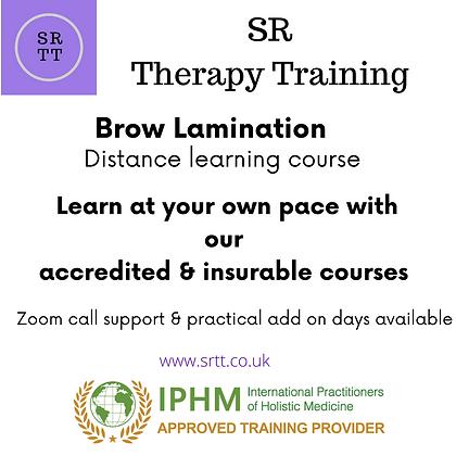 Brow Lamination online training