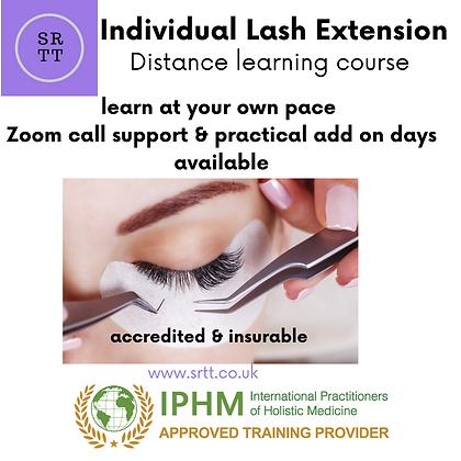Online individual lash extension course