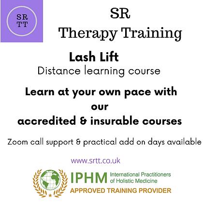 Lash Lift online training