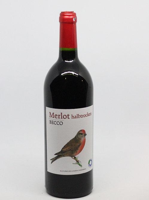 Merlot Becco halbtrocken 1l