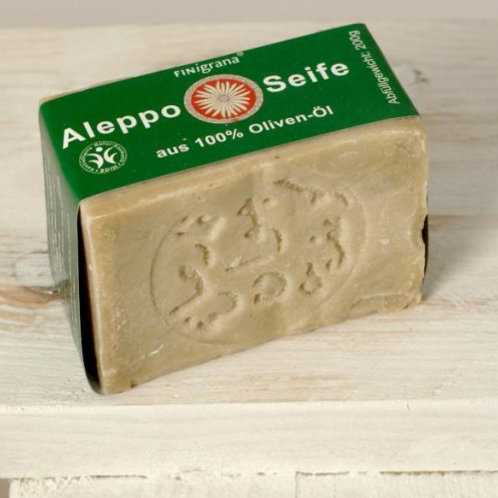 Aleppo Seife 100% Olivenöl 200g