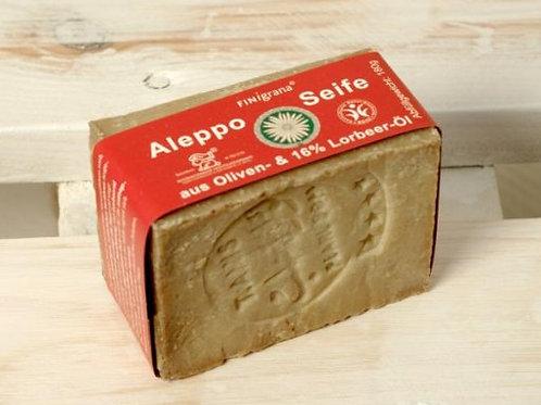 Aleppo Seife 84% Olivenöl 16% Lorbeer 180g