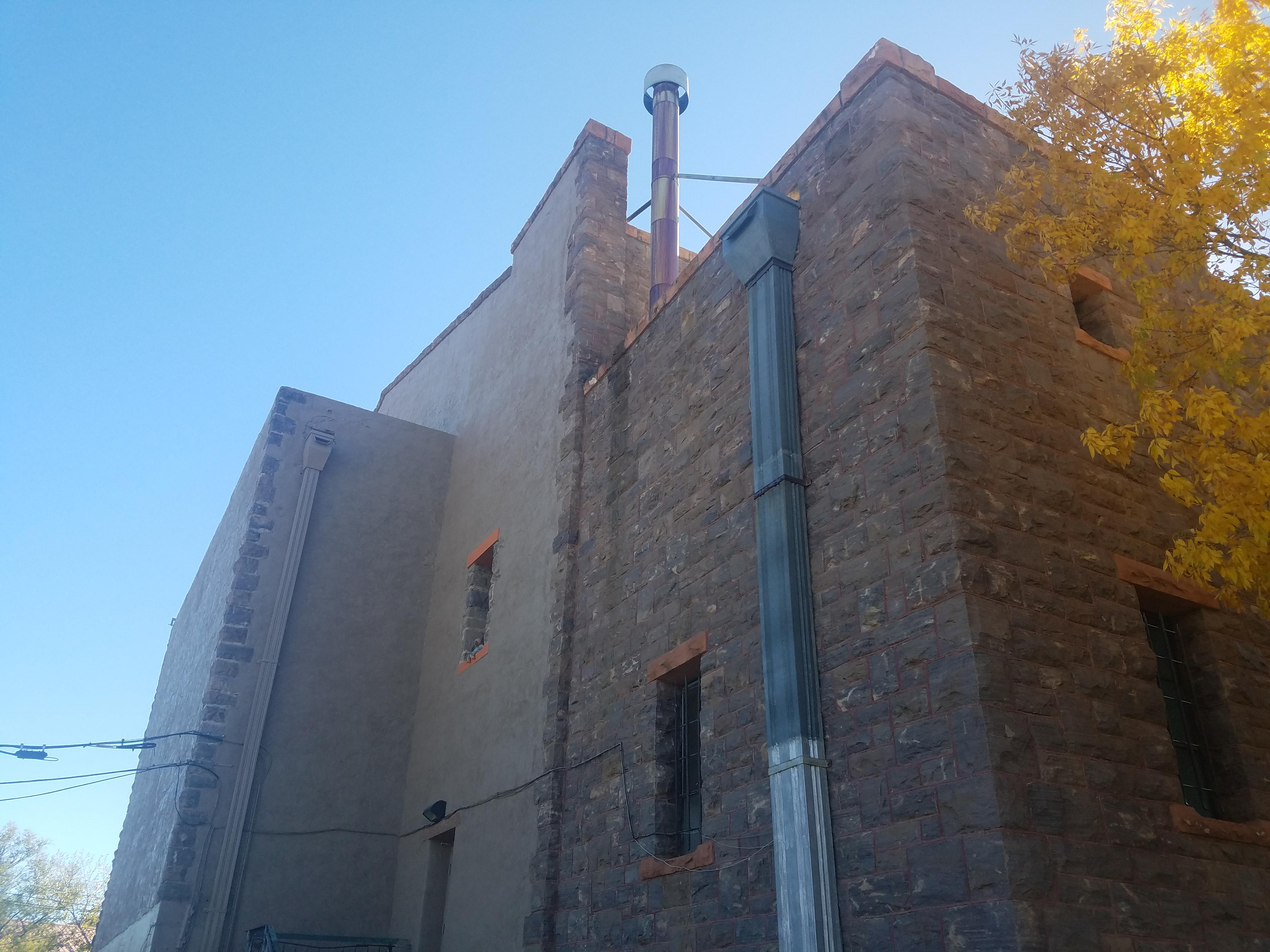 Back Wall Prescott Armory