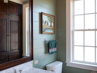 PAINT COLORS TO CREATE A SOOTHING BATHROOM
