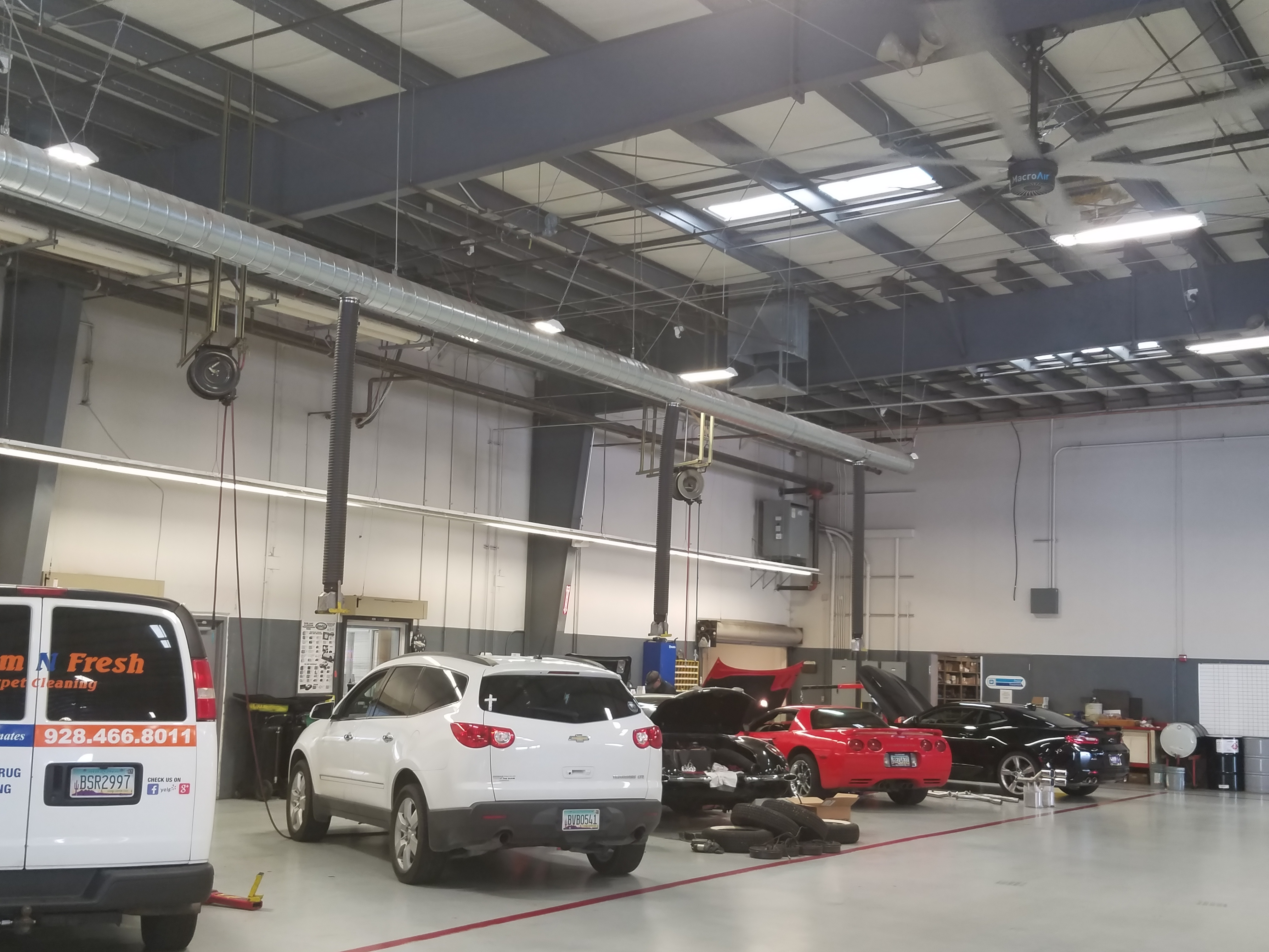 Lamb Chevrolet - Service bays - Prescott