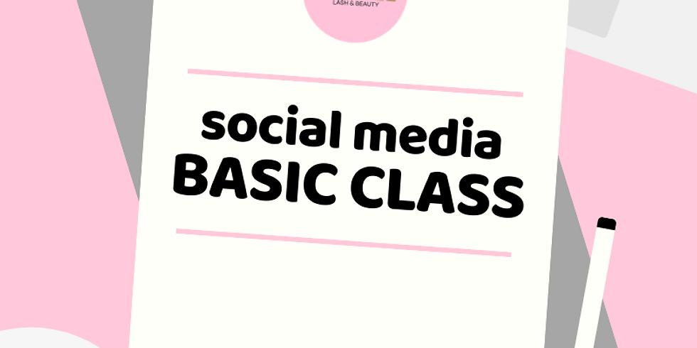 Social Media Basic CLASS