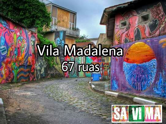 Vila Madalena 67 ruas ( Beco do Batman)