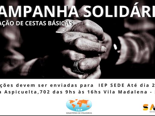 Campanha Solidária IEP SAVIMA