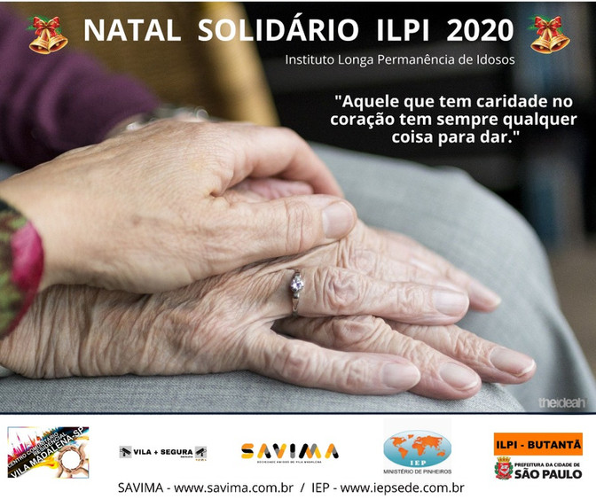 NATAL SOLIDÁRIO ILPI 2020