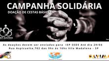 Campanha Solidária - Doação de Cesta Básica