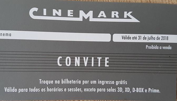 Promoção Savima/Cinemark         Cadastre-se e ganhe ingresso grátis