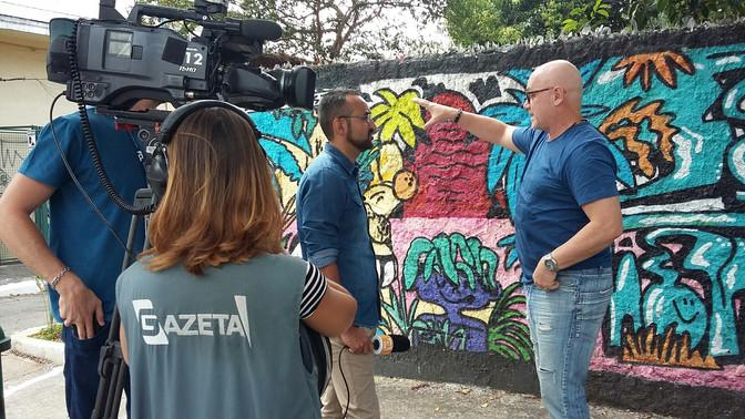 Entrevista TV Gazeta - Jornal da Gazeta