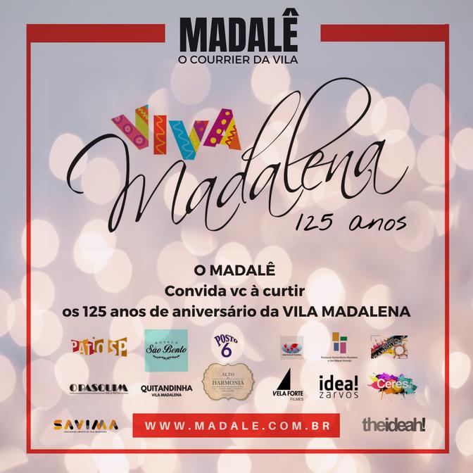 Aniversário da Vila Madalena 125 anos