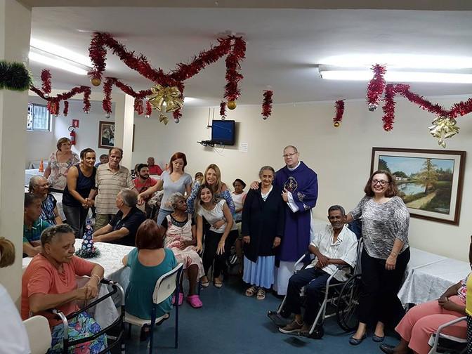 A Savima pela segunda vez organizou no dia 14/12 mais um evento beneficente no Lar de idosos ILPI Bu