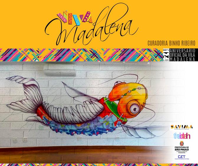 Binho Ribeiro Street Artist / Aniversário da Vila Madalena 19/08