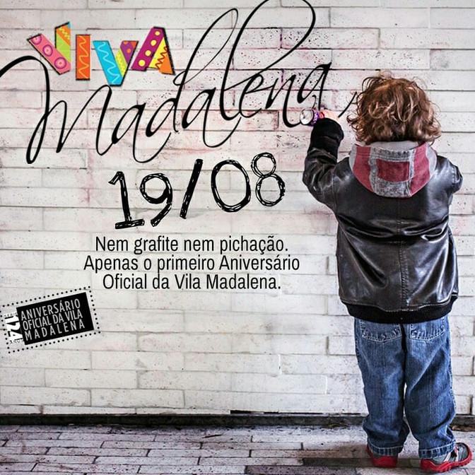 Aniversário da Vila Madalena 124 anos